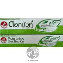 Зубная паста Оригинальная , Твин Лотус, Таиланд, 150г