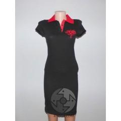 """Спортивное платье """"Лотос"""", черный"""