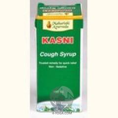 Сироп от кашля Касни Kasni,МА, Индия, 200мл