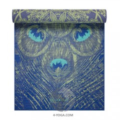 Коврик для йоги REVERSIBLE PEACOCK LACE YOGA MAT 173см*61см*6мм, США