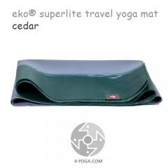 Легкий йога мат eKO SuperLite, Cedar, 61см*173см*1.5мм, Мандука