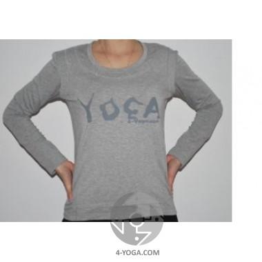 """Кофта с  накладной майкой  """" Yoga """""""