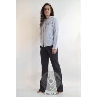 Женские спортивные штаны ЗИМА, серые