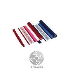 Хлопковый коврик для йоги РУДРА(Rudra),  65 см*198см *2 мм, Бодхи