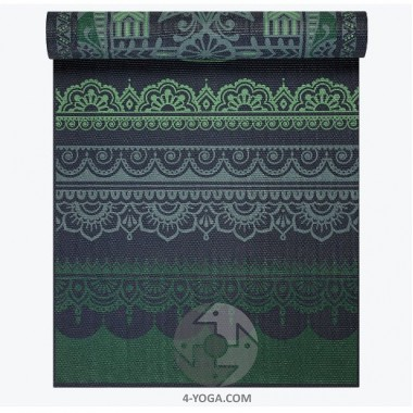 Коврик для йоги REVERSIBLE BOHO FOLK YOGA MAT 173см*61см*5мм, США фото
