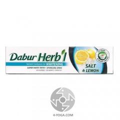 Зубная паста Соль и Лимон (Salt&Lemon), Дабур, 80г