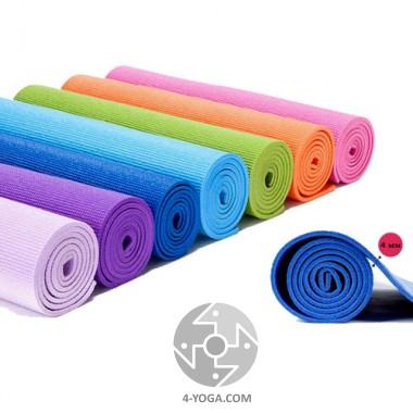 """Коврик для йоги """"ПРАКТИКА"""" 60см*173см*4 мм, Китай"""