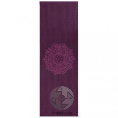 """Коврик для йоги """"ЛИЛА Мандала"""" (Leela Collection) 60см*183см*4мм, Бодхи, Германия"""