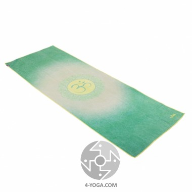 Йога полотенце Ом (All is Om) 61см*183см* 1мм (500г), Бодхи Bodhi