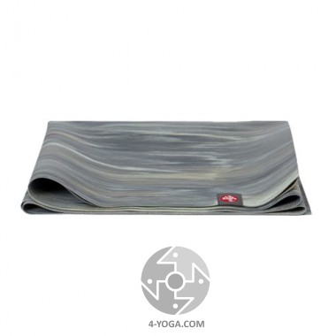 Легкий йога мат eKO SuperLite, Thunder Marbled, 61см*180см*1.5мм, Мандука фото