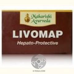 Ливомап(Livomap), Махариши аюрведа, Индия, 100 таб