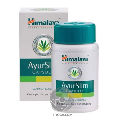 Аюрслим(AyurSlim) - средство для похудения, Гималаи,  Индия,60 кап фото