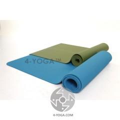 Каучуковый йога мат КЕРАЛА 61см*183см*5мм, Тайвань