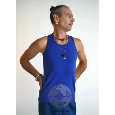 "Борцовка ""YOGA MAN"", синий фото"