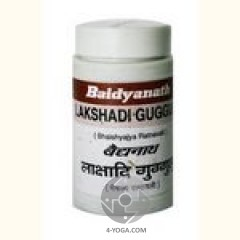 Лакшади гугул  (Lakshadi guggulu) , Baidyanath, 80 таб