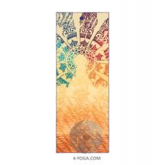 Йога полотенце Чакра 61см*172см* 1мм (550г), Мандука, США-Корея