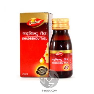 Шадбинду - масло-капли для носа, Дабур, Индия,25 мл