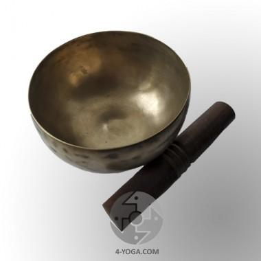 Поющая чаша кованая, диаметр 20 см, ручная работа, Непал фото