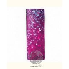 Йога полотенце Капли (Drops of peace) 61см*183см* 1мм (500г), Бодхи