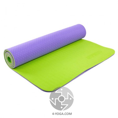 Коврик для йоги Zelart TPE 61см*173см*6 мм, Китай фото