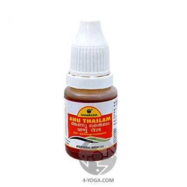 Ану таил - масло-капли для носа (Anu Tailam), Нагарджуна, Индия,10 мл фото