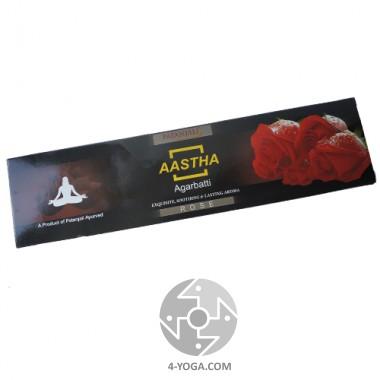 "Аромапалочки ""Rose"", Patanjali, Индия, 20 гр."