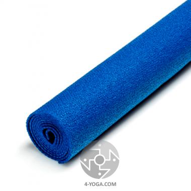 Йога мат Extra (Wunderlich): легкий,цепкий, упругий, длина 220 см, цвет синий