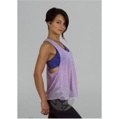 """Топ для йоги """"Радуга"""", фиолетовый"""