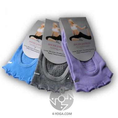 Носки для йоги без пальчиков фото