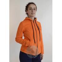 Женская куртка НАМАСТЕ, оранжевая