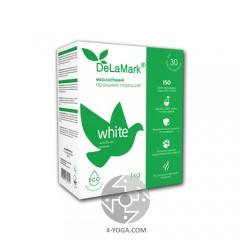 Стиральный порошок DeLaMark White экологичный, 1 кг