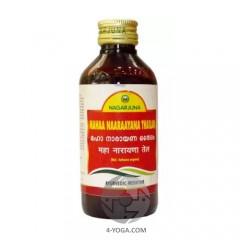 Масло Маханараян от боли в спине, суставах, растяжении связок, Nagarjuna, Индия, 200 мл
