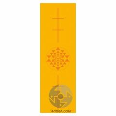 Йога мат ЛИЛА Янтра  (Leela Collection Yantra) 60см*183см*4мм, Бодхи