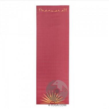 """Коврик для йоги """"ЛИЛА"""" Сурья-намаскар  (Leela Collection Sun Salutation) 60см*183см*4мм, Бодхи"""