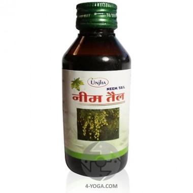 Антисептическое масло нима (ним таил), Unja, Индия, 100 мл фото