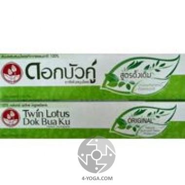 """Зубная паста """"Оригинальная"""" , Твин Лотус, Таиланд, 150г"""