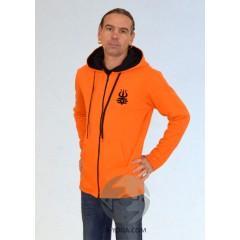 Мужская куртка MEN, оранжевая