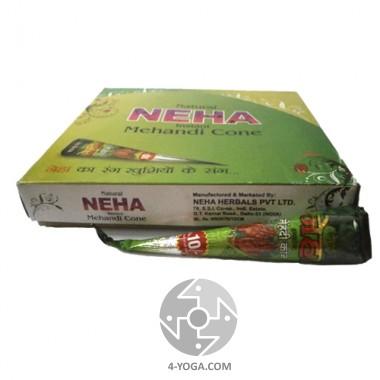 Хна для мехенди (тату) Конус, Neha, Индия, 25 гр. фото