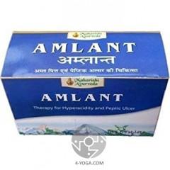 Амлант от изжоги и язвы(Amlant), Махариши Аюрведа  Индия, 60 таб