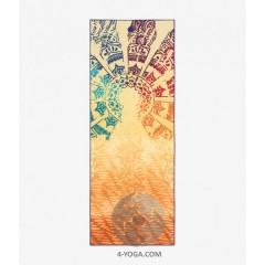 Йога полотенце Чакра 67см*183см* 1мм (550г), Мандука, США-Корея