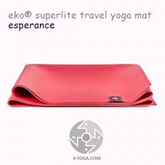 Легкий йога мат eKO SuperLite, Esperance, 61см*173см*1.5мм, Мандука