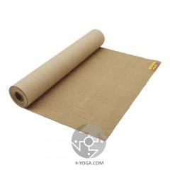 Коврик для йоги Sattva Jute Yoga Mat, 173см*61см*3мм, США