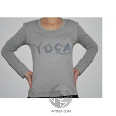 """Кофта с  накладной майкой  """"Yoga"""""""