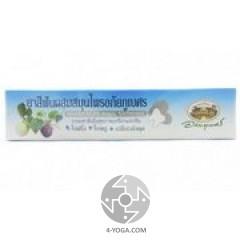 Зубная паста травяная с мангостином, гуавой и бетелем, ABHAIBHUBEJHR, Таиланд, 100г