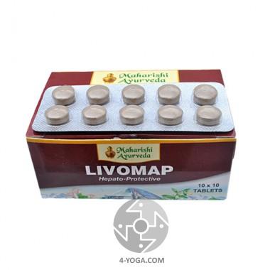 Ливомап (Livomap), Махариши аюрведа, Индия, 100 таб фото