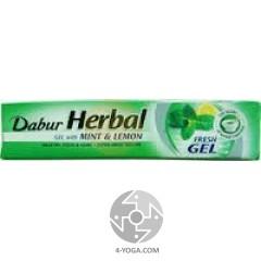 Зубная паста Мята и Лимон(Mint&Lemon), Дабур, 150г