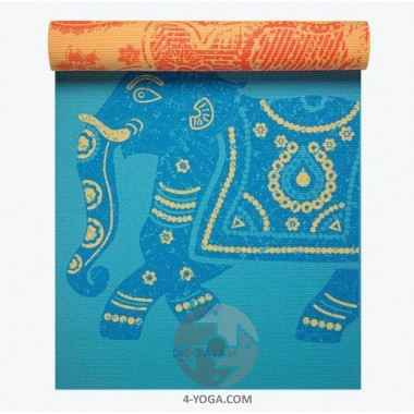 Коврик для йоги ELEPHANT REVERSIBLE YOGA MAT 173см*61см*5мм, США
