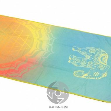 Йога полотенце Элефант дримс(ElephantDreams) 61см*183см* 1мм (500г), Бодхи Bodhi