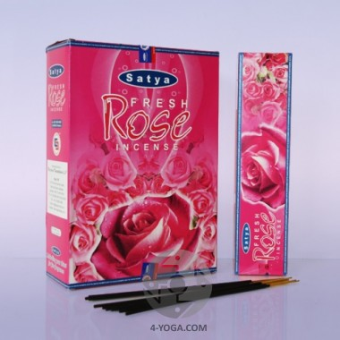 "Аромапалочки Satya ""Fresh Rose"", 20 гр. фото"