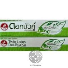 Зубная паста Оригинальная , Твин Лотус, Таиланд, 40г